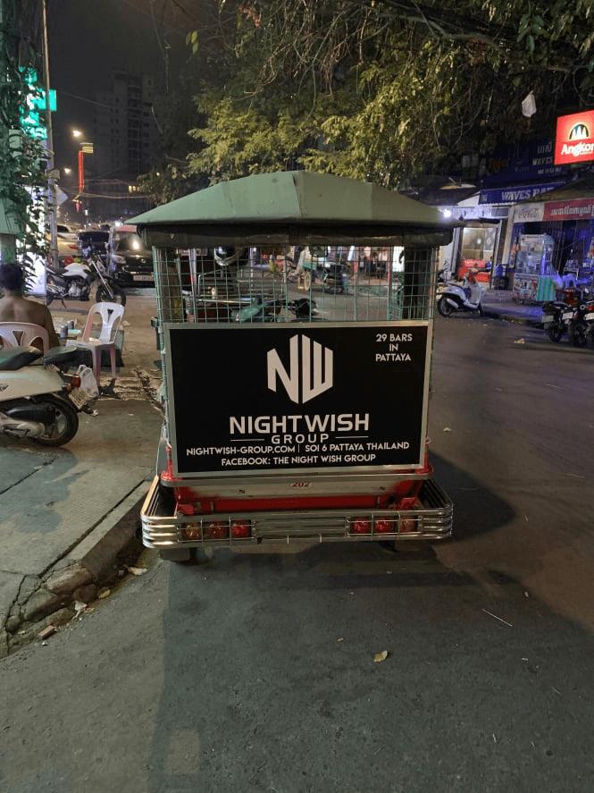 phnom penh tuk tuk advertising